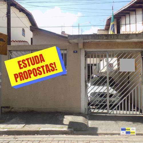 Casa A Venda No Bairro Jardim Moreira Em Guarulhos - Sp.  - 1878-1