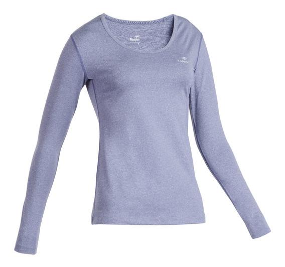 Remera Running Mujer Topper Tshirt Termica Ml Wmns