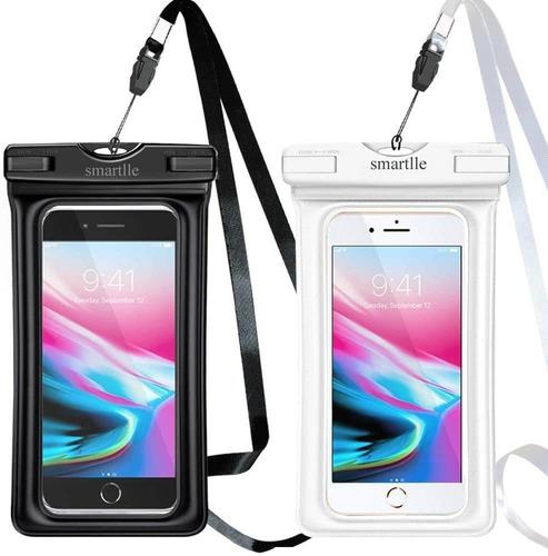 Imagen 1 de 6 de Funda Impermeable Smartlle Universal Para Teléfono Movil X2u