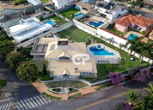 Imagem 1 de 30 de Casa Com 4 Dormitórios À Venda, 566 M² Por R$ 2.150.000,00 - Condomínio Shambala I - Atibaia/sp - Ca0505