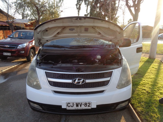 Furgon Hyundai H1 New 2.5 Diesel Blanca Año 2010