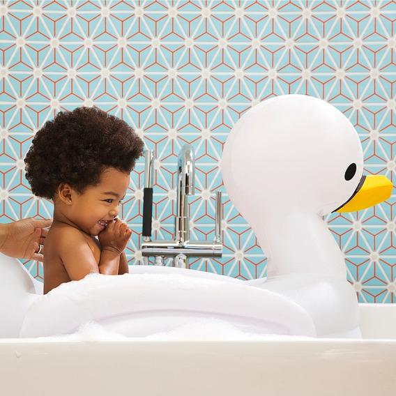Bañera Para Bebe Munchkin Inflable Cisne