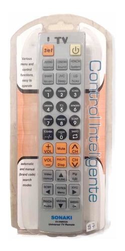 Control Remoto Tv Universal - Inteligente - Sonaki