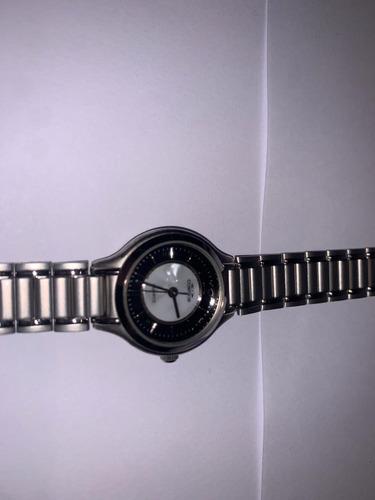 Relógio Cosmos Prata E Preto