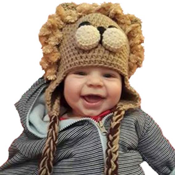Gorros Tejidos Al Crochet Pepa, Elefante Etc