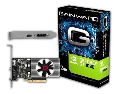 Placa De Video Nv Gt1030 2gb Ddr5 64 Bits Gainward
