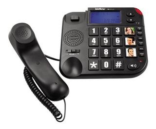 Telefone Com Fio Tok Facil Id - Intelbras Novo 12x Sem Juros