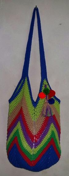 Bolso-cartera En Crochet