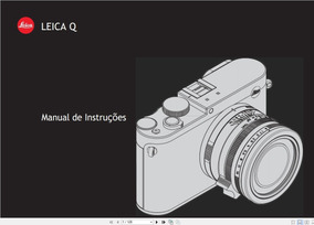 Manual Em Português Da Câmera Digital Leica Q +frete Grátis