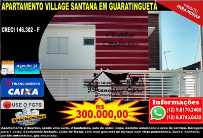 Apartamento A Venda No Bairro Residencial Village Santana Em - Ap090-1