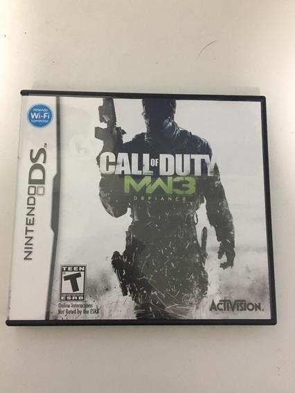 Jogo Nintendo Ds - Usado - Call Of Duty Mw3 - Ótimo Estado