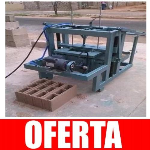 Maquina Para Hacer Block De Concreto Construcción En
