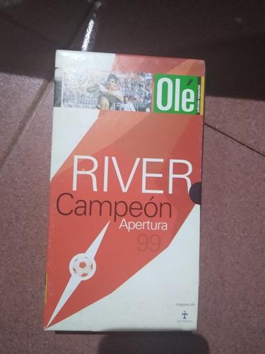Vhs River Campeón Apertura 99'