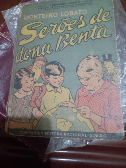 Livro Antigo ,seroes De Dona Benta De Monteiro Lobato D 1937
