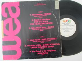 Prince, Bob Dylan, Ac/dc, Rod Stewart, Lp Promo Nº22 1986