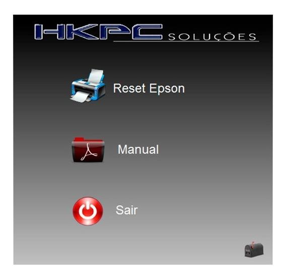 Reset Epson R290 - Compatível Com Windows 7 - Ilimitado