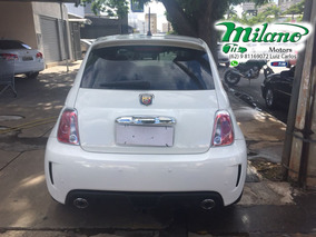 Fiat - 500 - 1.4 Abarth Turbo 16v Branco - 2015 / 2015 - Gas