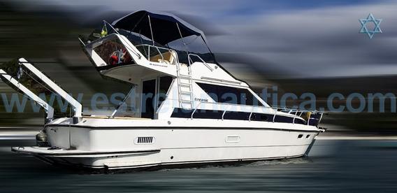 Lancha Intermarine Oceanic 36 Barco Iate N Azimut Cimitarra
