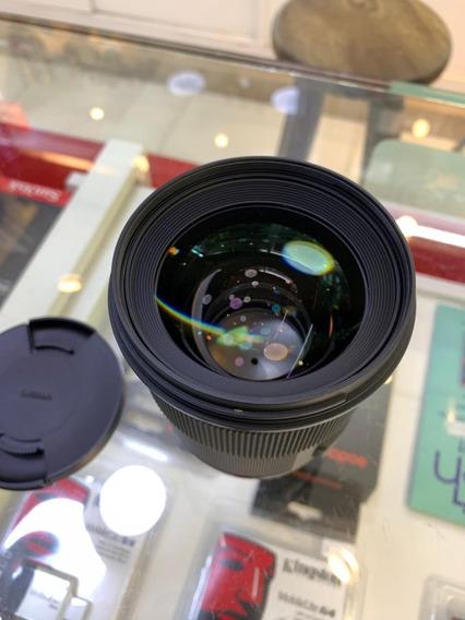 Lente Sigma 50mm F/1.4 Art P/ Nikon *usada* - Garantia E Nfe