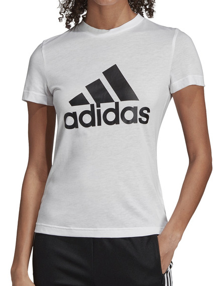 Remera adidas Training W Must Haves Badge Of Sport Mujer Bl