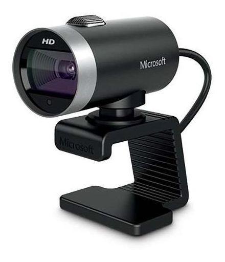 Webcam Cinema Usb Preta Microsoft H5d00013 - Preto