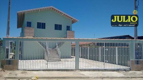 Imagem 1 de 7 de Casa Com 1 Dormitório À Venda, 49 M² Por R$ 117.000,00 - Jardim Magalhães - Itanhaém/sp - Ca3092