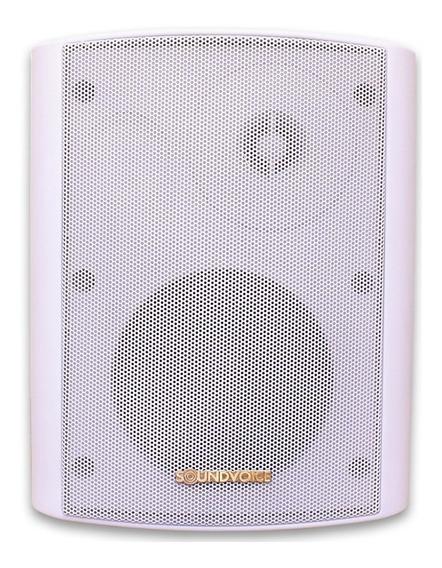 Caixa Acústica Passiva Soundvoice Outdor Ot65b Branca Ap0338