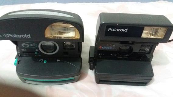 Duas Máquinas Fotográficas Polaroid