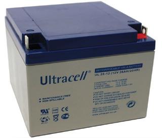 Batería Ultracell Ul26-12 Agm Sellada