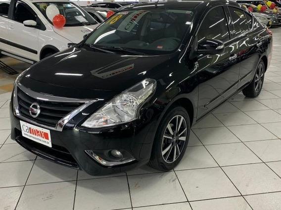 Nissan Versa Unique 1.6 16v Flex, Top De Linha, Fwu7044
