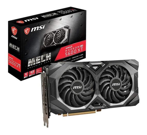 Msi Radeon Rx 5600 Xt Mech Oc 6gb Gddr6 En La Plata