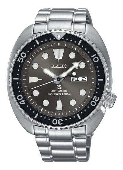 Relógio Seiko Srpc23 Prospex Turtle Diver Automatico 45 Mm