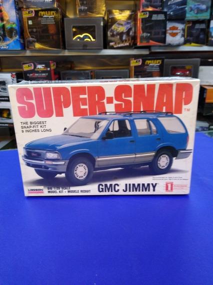 Super -snap Camioneta Escala 1/20 Gmc Jimmy