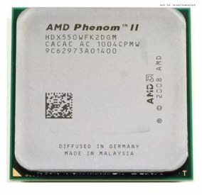 05 Processadores Amd 550 Phenom Ii X2 Socket Am2+am3 +cooler