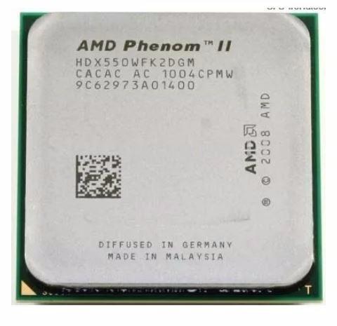 10 Processadores 550 Phenom Ii X2 Socket Am+ Am3 Sem Juros