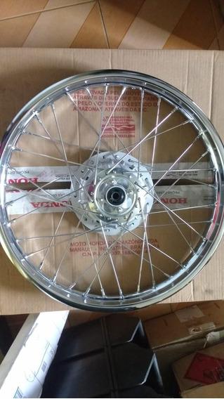 Roda Dianteira Honda Nxr150 Nxr160 Bros Tambor 44650-kre-a80