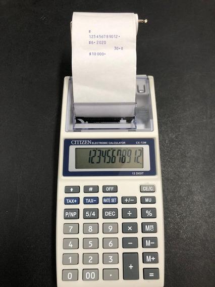Calculadora Citizen 72w