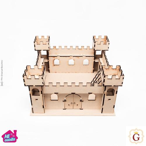 Casa Castillo Medieval Para Muñecas Y Muñecos En Fibro Fácil