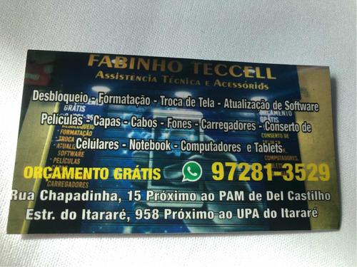 Fabinho Tec Cell  Reparo E Manutencao  De Celular E Notebook