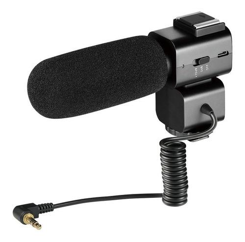 Ordro Shotgun Micrófono De Video En La Cámara Para Dslr N