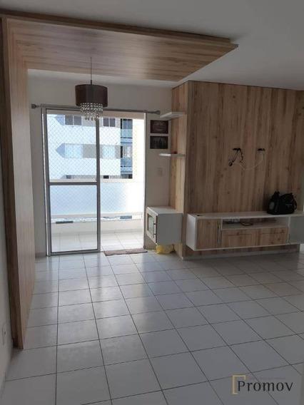 Apartamento Com 3 Dormitórios À Venda, 62 M² Por R$ 205.000 - Zona De Expansão - Aracaju/se - Ap0791
