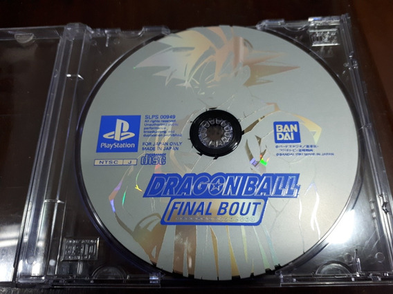 Dragon Ball Final Bout Original Playstation One Ps1 Só Cd