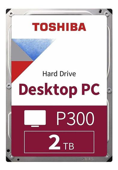 Toshiba P300 HDWD120UZSVA 2 TB - Prata