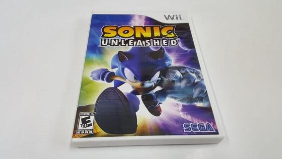 Sonic Unleashed - Wii - Original - Mídia Física