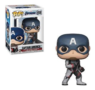 Funko Pop! Marvel: Avengers Endgame - Captain America No 450