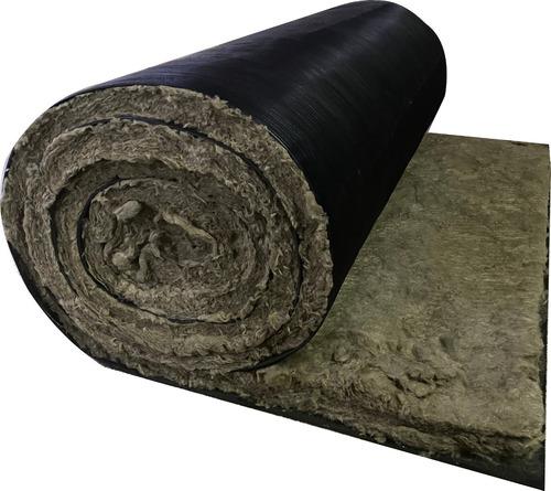 Imagen 1 de 8 de Rollo Lana De Roca Mineral 50mm + Barrera Acústica X 5 M2