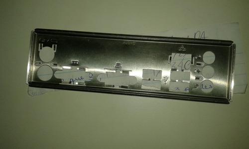Imagem 1 de 6 de Tampa Espelhada Conector P/ Placa Mãe Atx.