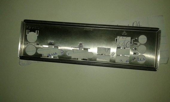 Tampa Espelhada Conector P/ Placa Mãe Atx.