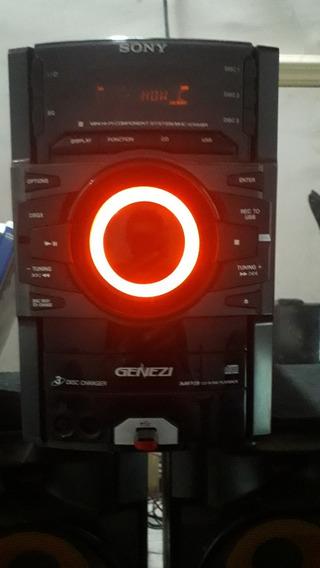 Mini Sytem Sony Genezi - Cd Não Ta Lendo