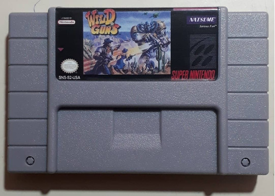 Wild Guns Super Nintendo